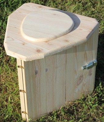 toilette seche camping pliable transportable en bois maison toilette seche toilettes et. Black Bedroom Furniture Sets. Home Design Ideas