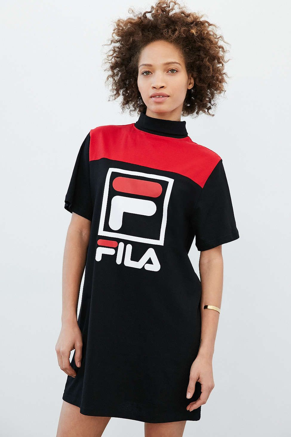 fila outfits. FILA + UO Jessica T-Shirt Dress, LOVE MIL VEZES Fila Outfits