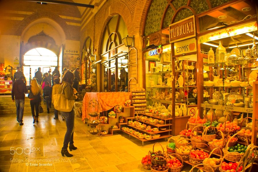 Popular on 500px : Alipaşa Bazaar by Aersz_Ca