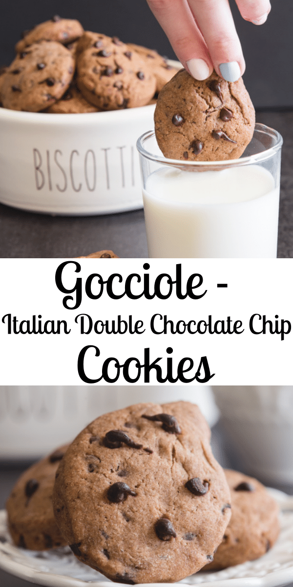 A delicious Double Chocolate Chip Cookie Recipe shaped ...