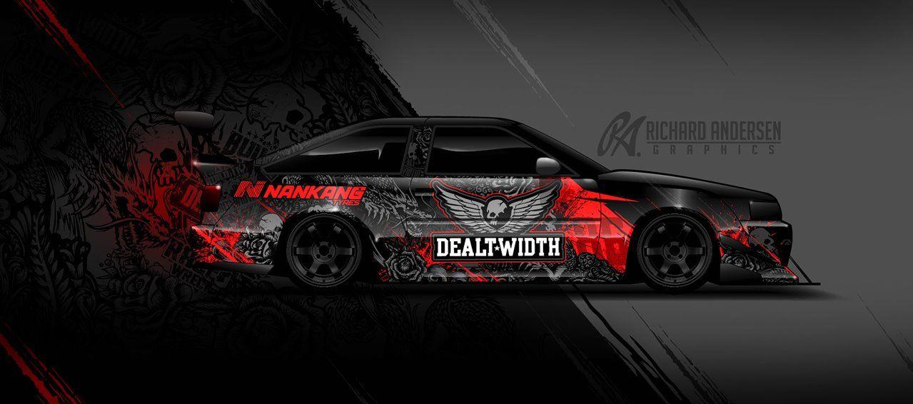 Race Car Wrap Design Jeeps Pinterest Car Wrap Jeeps And Cars - Vinyl decals for race carsbmw race car wraps by graphios