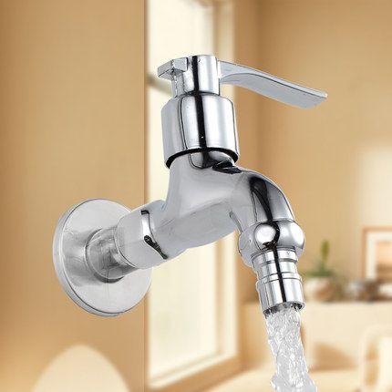 Washing Machine Faucet Mop Pool Sink Tap Wall-mounted Single Handle ...