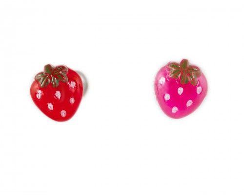Acrylic Strawberry Tongue Ring Cute Tongue Rings Ear Piercings Cartilage Tongue Rings