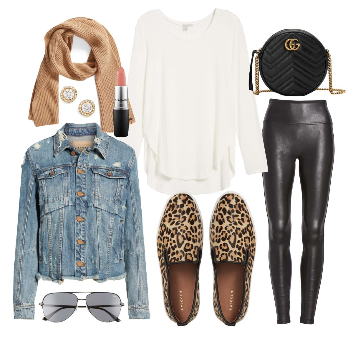 Cute Outfit for Running Errands - Lipgloss & Labels