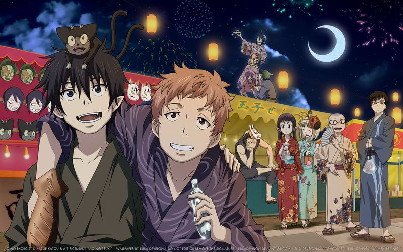 Ao No Exorcist Blue Exorcist Ao No Exorcist