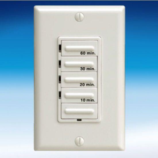 Fantech 115 Volt Inline Single Grille Bathroom Fan Electronic Timer Control Bathroom Fan Kitchen Ventilation Range Hoods