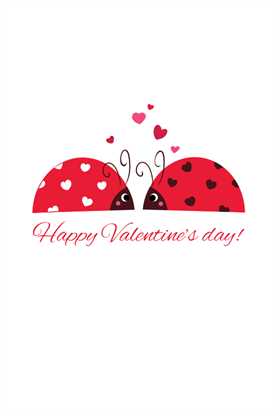 Love Bug Valentine S Day Card Free Greetings Island Valentine Day Cards Valentine S Day Greeting Cards Valentines Day Card Templates