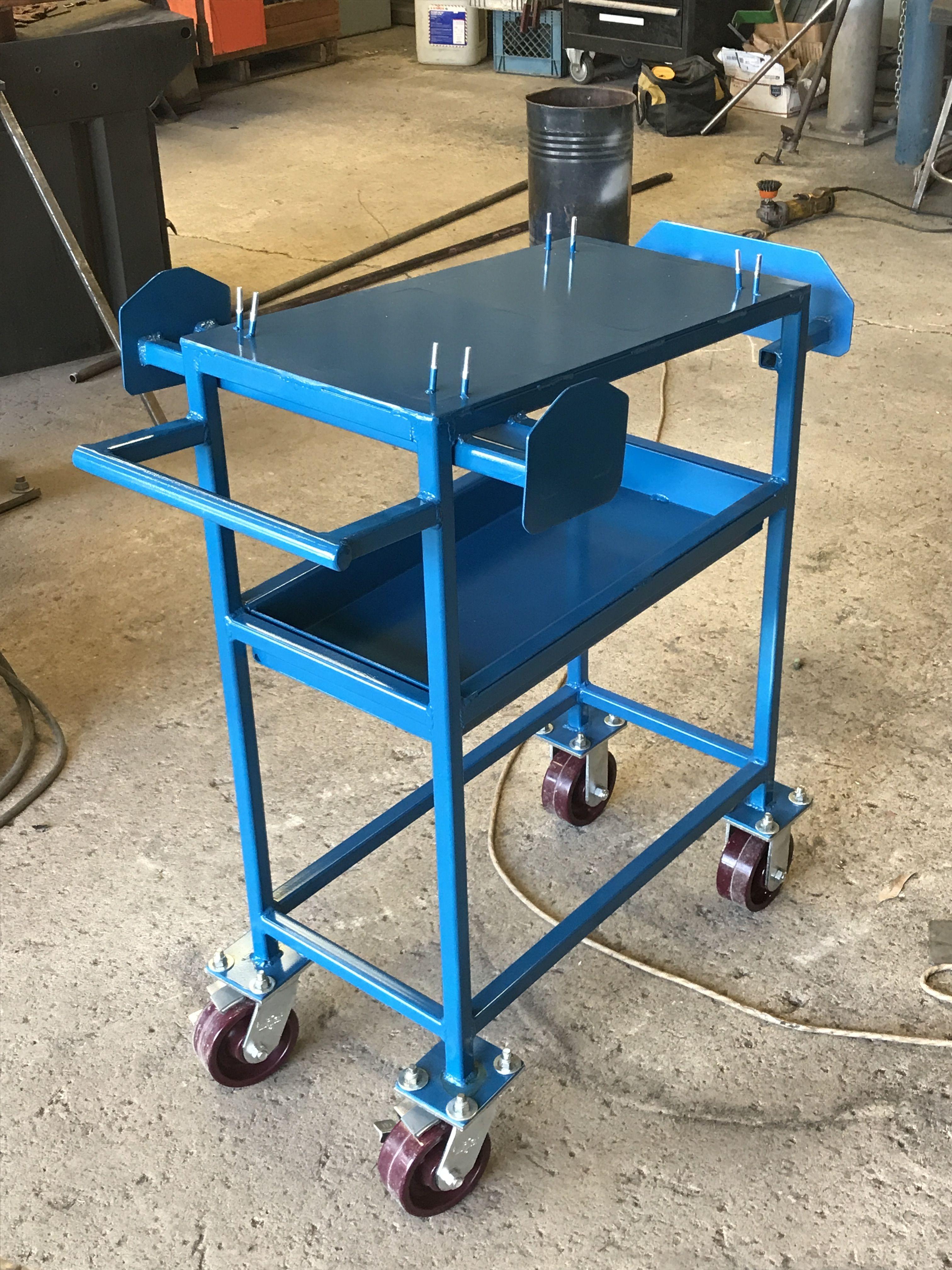 Custom cart for plasma cutter plasma cutter drafting