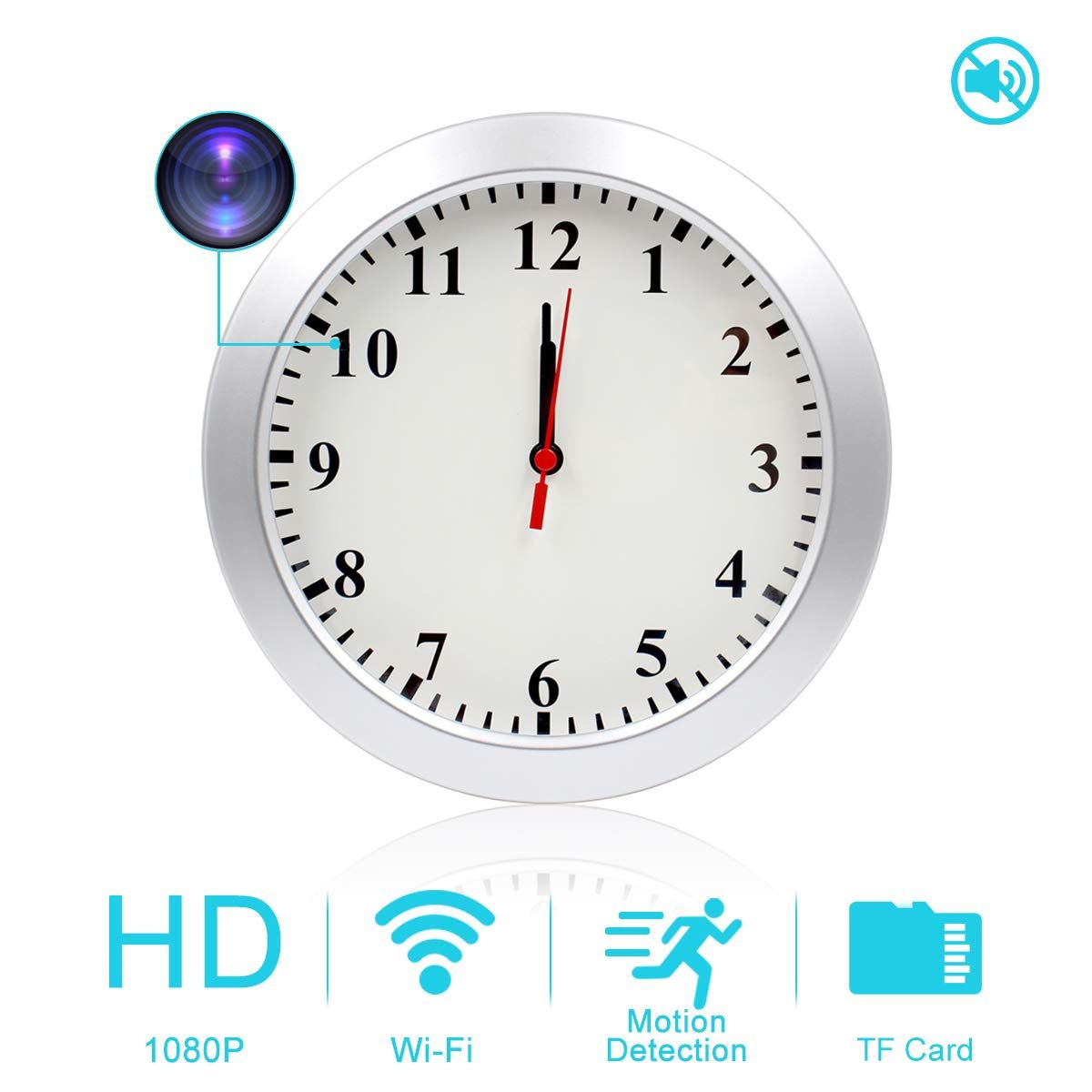 Square Wood Wall Clock With Metal Numbers Wood Wall Clock Metal Wall Clock Square Clocks