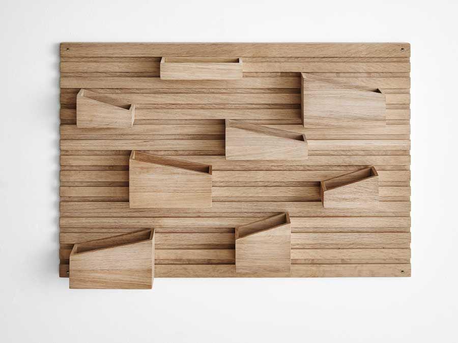 Dekorative Schreibtisch Aufbewahrung Fur Die Wand Im Naturlichen