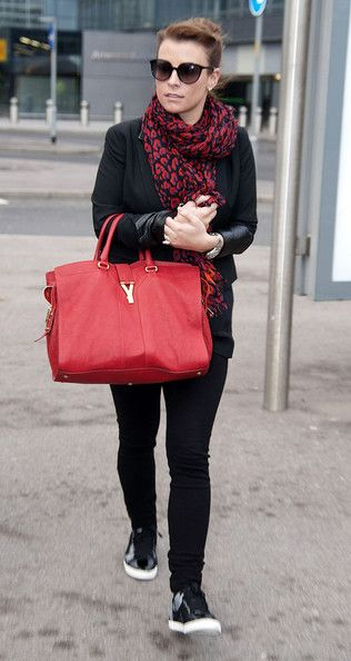 e49cff796166 Coleen Rooney Leather Tote | ╬Street Fashion╬ | Fashion, Coleen ...