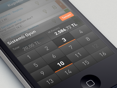 custom numeric keyboard | App UI | Mobile ui design, App design