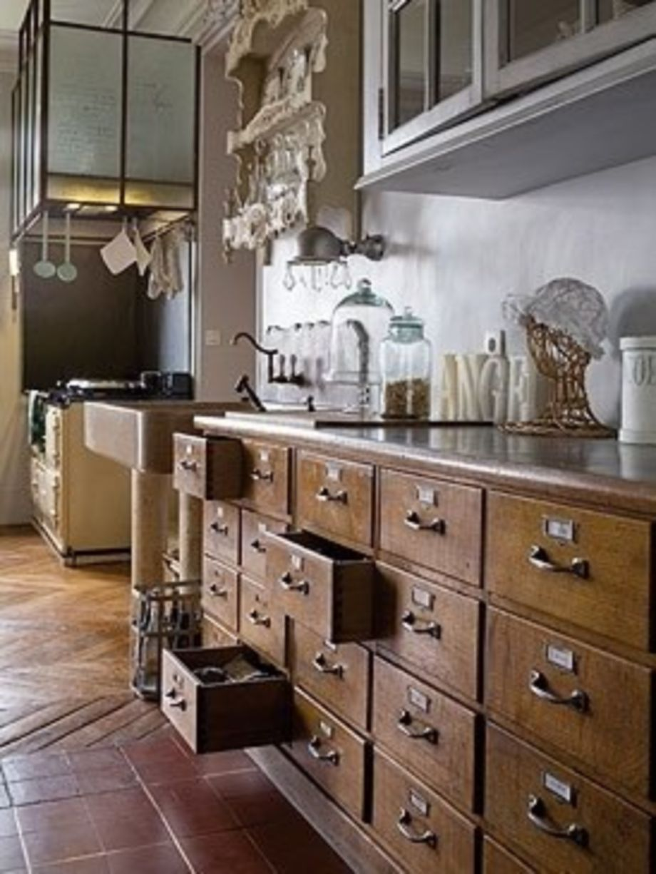 55 Simple Stylish Old Kitchen Cabinet Ideas Http Seragidecor Com 55 Simple Stylish Old Rustic Farmhouse Kitchen Old Kitchen Cabinets Rustic Kitchen Cabinets