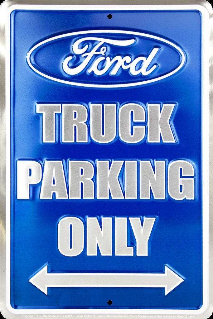 """TIN SIGN FORD TRUCK 20/"""""""