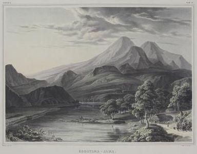 How To Draw A Mountain Landscape Landscape Drawings Landscape Sketch Cool Landscapes