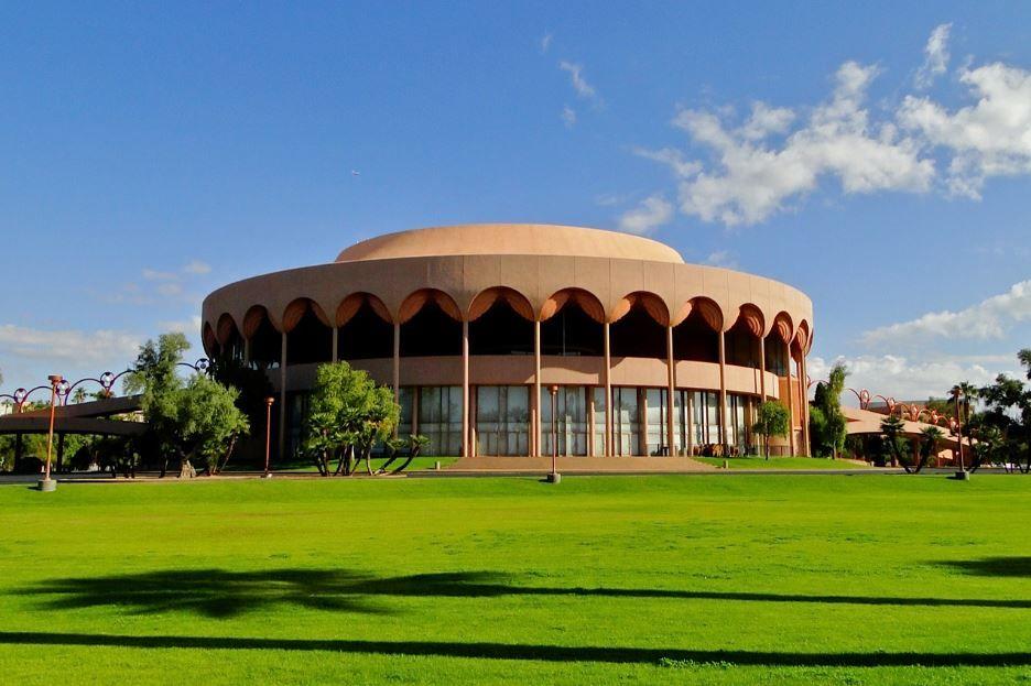 Grady Gammage Memorial Auditorium Located On The Campus Of Arizona State University Tempe Az Considered To Be The Last Public Co Tempe Arizona Arizona Tempe
