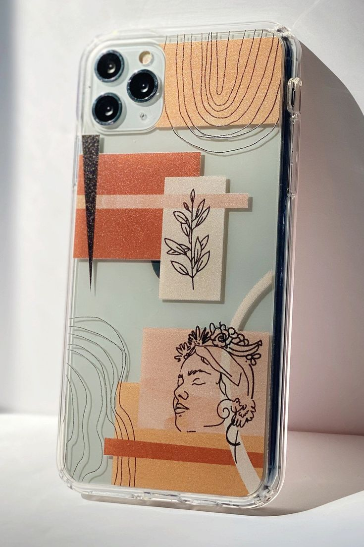 Aesthetic Abstract Phone Case For iPhone 12 11 Pro