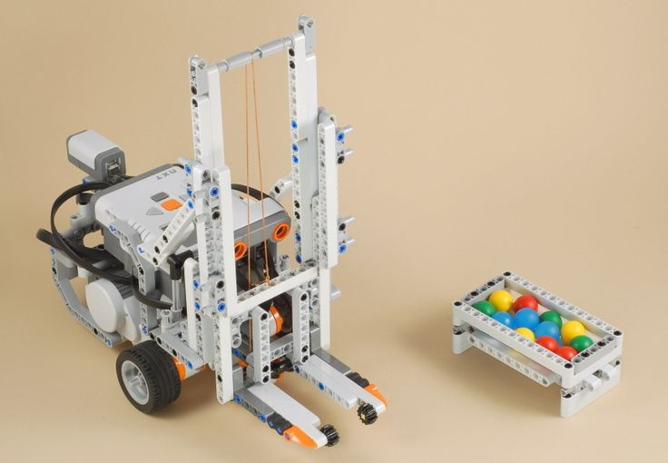 Fork Lift Our Fll Team Built A Really Cook Forklift One