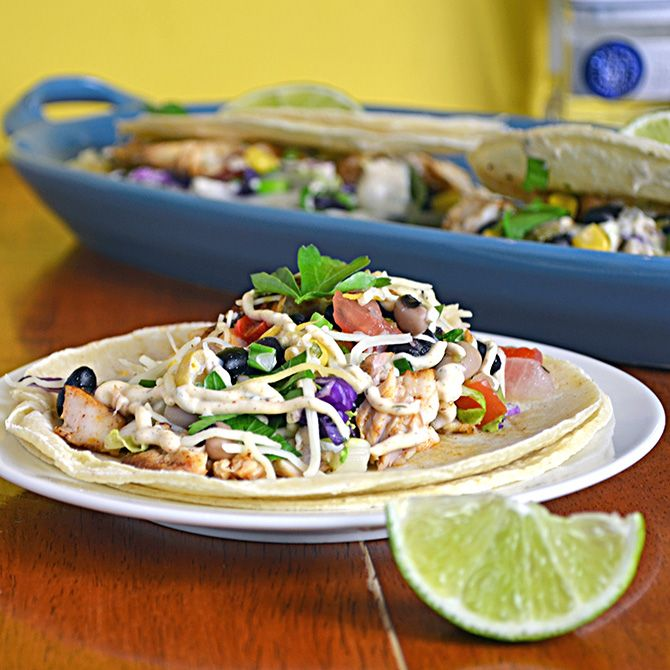 Margarita Fish Tacos With Chipotle Lime Sauce Recipe Fish Tacos Seafood Recipes Paleo Recipes Easy