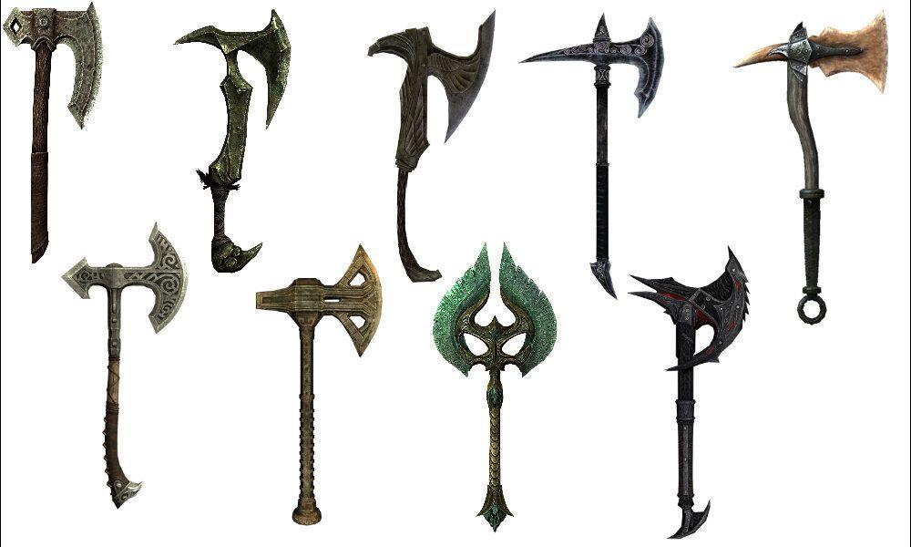 skyrim swords - Google Search
