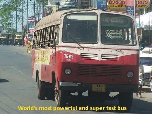Superfast Buses In The World With Images Kerala Kerala India Bus