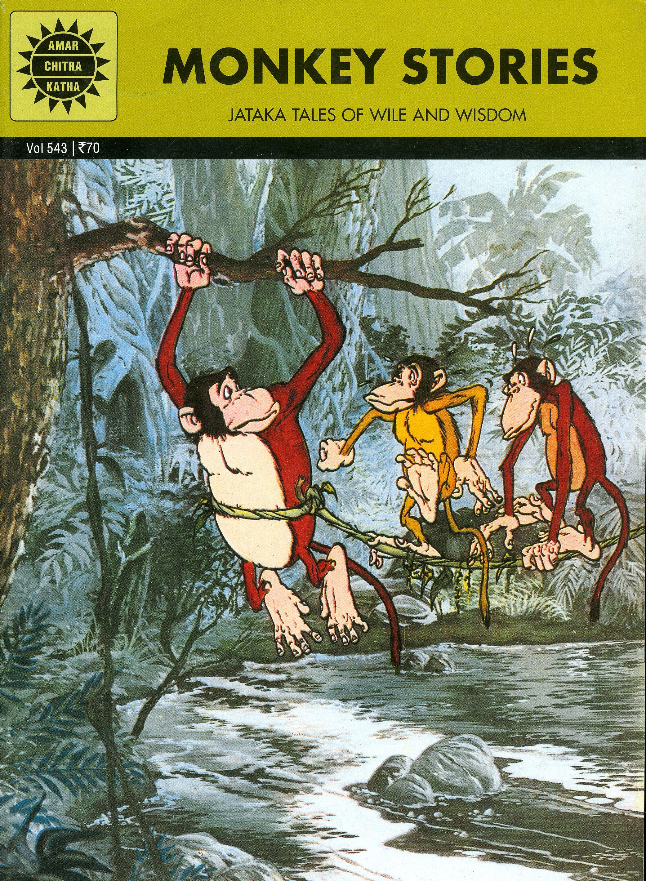 Amar Chitra Katha Comics Monkey Stories Story Tale Tales Indian Comics