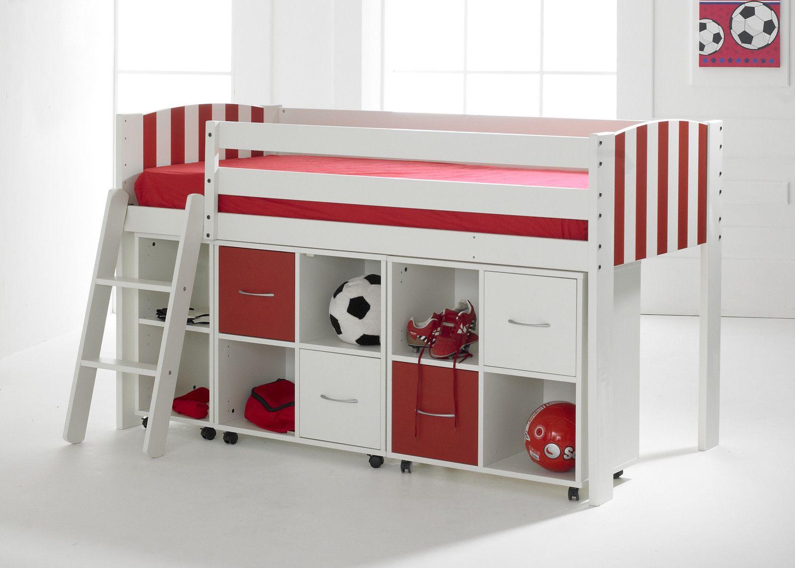 Basic Football Storage Midsleeper Http Www Rainbowwoodsouth Co Uk