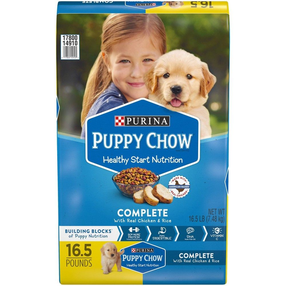 Purina Puppy Chow Complete Dry Dog Food 16 5lbs Adult Unisex
