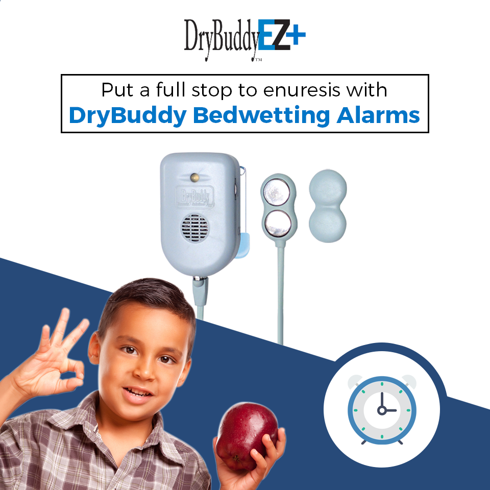 Put a full stop to enuresis with DryBuddy Bedwetting