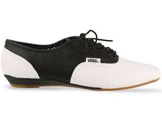 f237870a59 NEW VANS SOPHIE WHITE BLACK FLAT SHOES OXFORD LEATHER WOMENS ALL SIZES