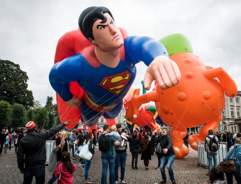 Meer dan 100.000 bezoekers voor Brussels Stripfeest   Brusselnieuws