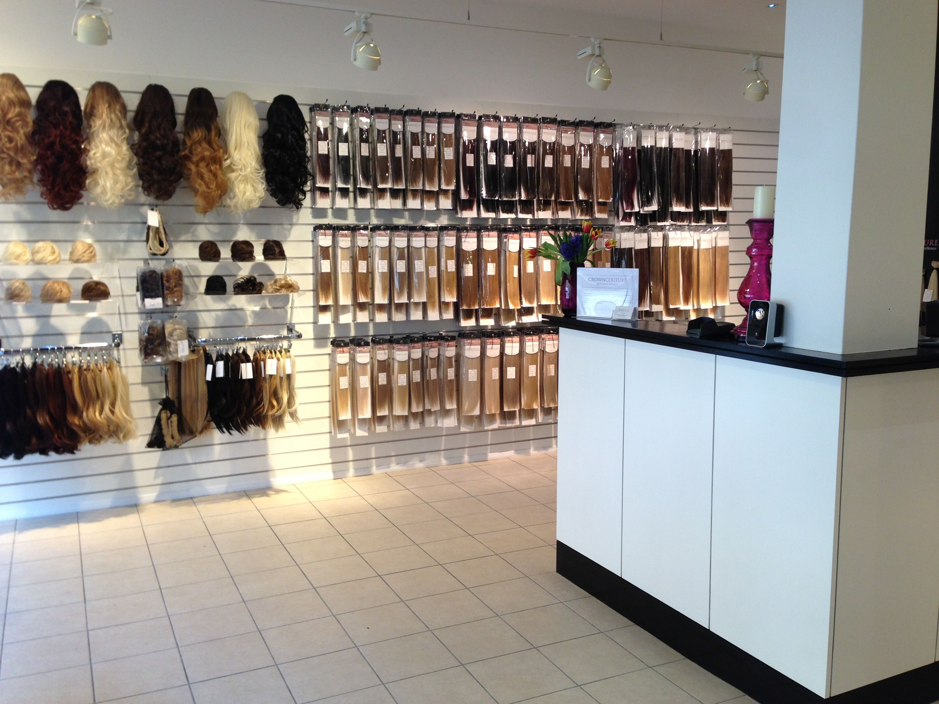 CrownCouture hair extension boutique Hair extension