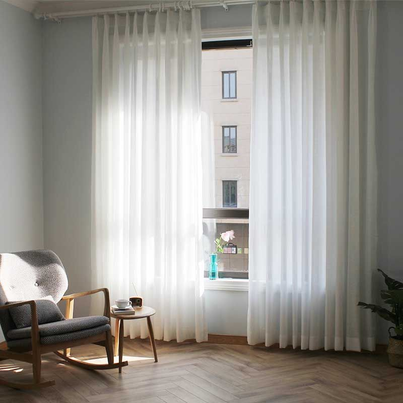 6 14us 50 Off Japan White Soft Tulle Window Curtains For Bedroom The Livingroom Window Treatments Linen Sheer Voile For Kitchen Drapes Decor Curtains Al Window Treatments Living Room Living Room Bedroom