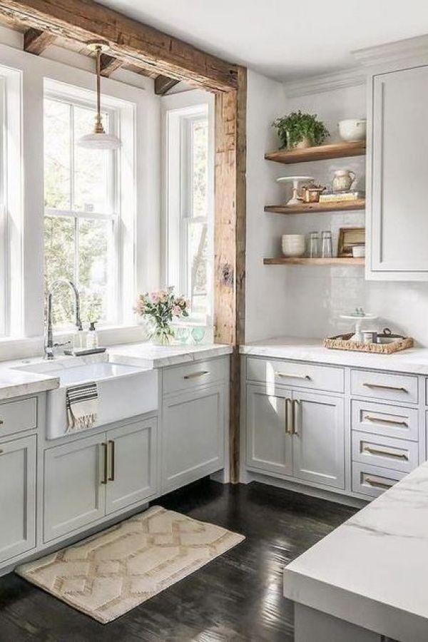 Beautiful Fixer Upper Farmhouse Kitchen Design Ideas 13 In 2020 With Images Kitchen Remodel Small
