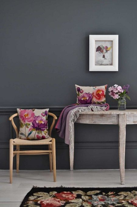 Beautiful scottish design company bluebell gray winter peony collection