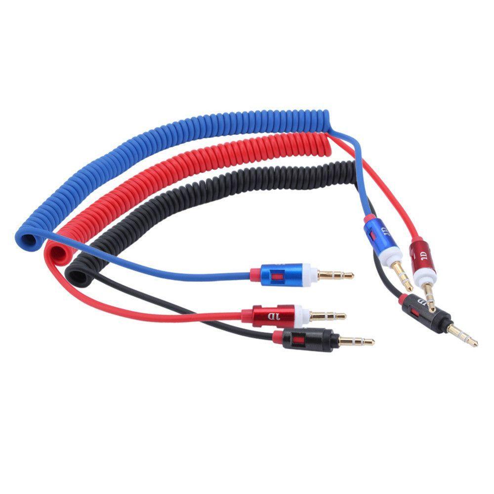 3.5mm Retractable Vehienlar Aux Cables Mobile Phone Audio Cable Male ...