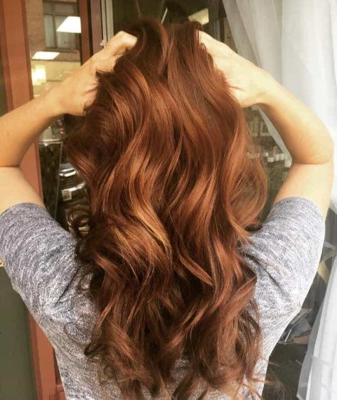 10 Heartwarming Shades of Fall Hair Color・2020 Ult