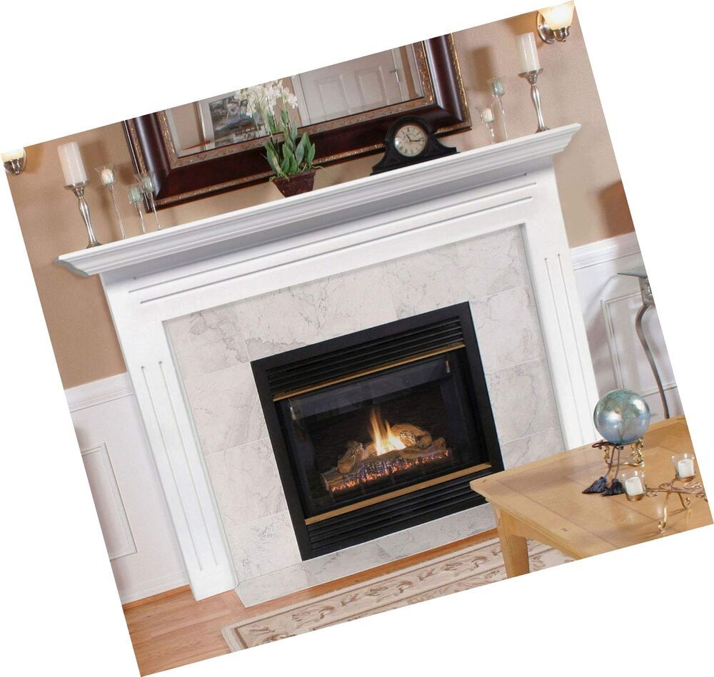 Pearl Mantels 510 48 Newport 48 Inch Fireplace Mantel Surround With Medium De Fireplace Mantel Surrounds Mantel Surround Fireplace Mantels