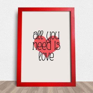 Poster Beatles All You Need Is Love