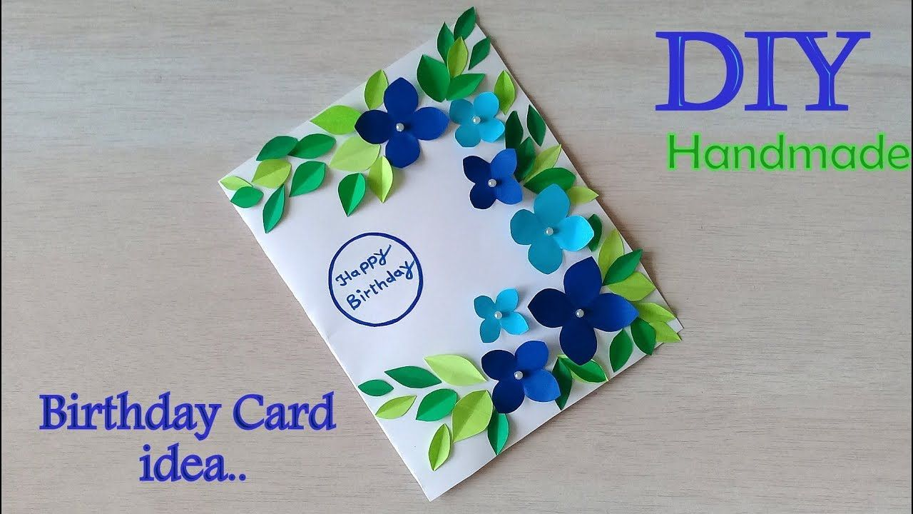 Very Beautiful Diy Birthday Card Making How To Make Card For