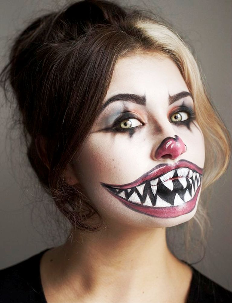 30 Scary Halloween Makeup Ideas For You To Try halloween - face makeup ideas for halloween