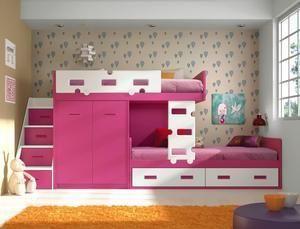 Lindas Camas Camarote Para Dormitorio De Niñas