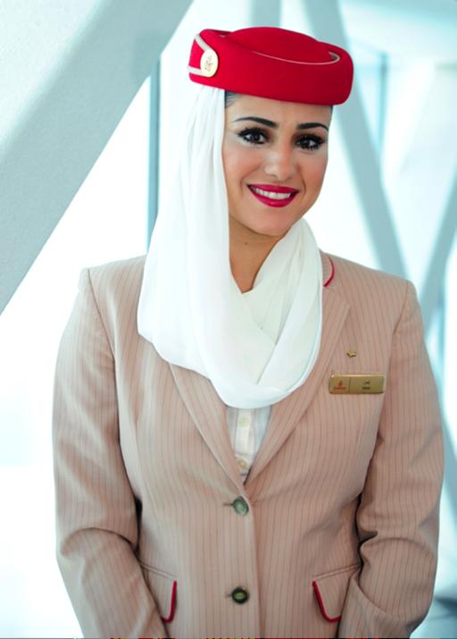 Emirates cabin crew makeup - Gorgeous