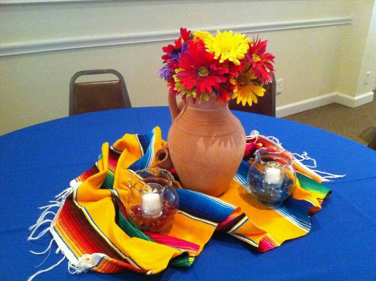 Pin de mada sala en fiesta mexicana   Fiesta mexicana, Fiestas de cumpleaños mexicanas, Centro de mesa mexicano