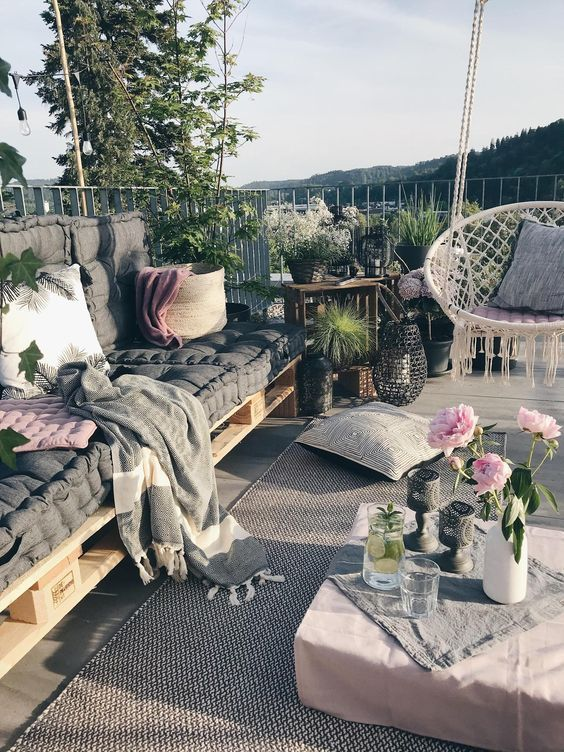 Photo of My outdoor area on the roof terrace and whoever …