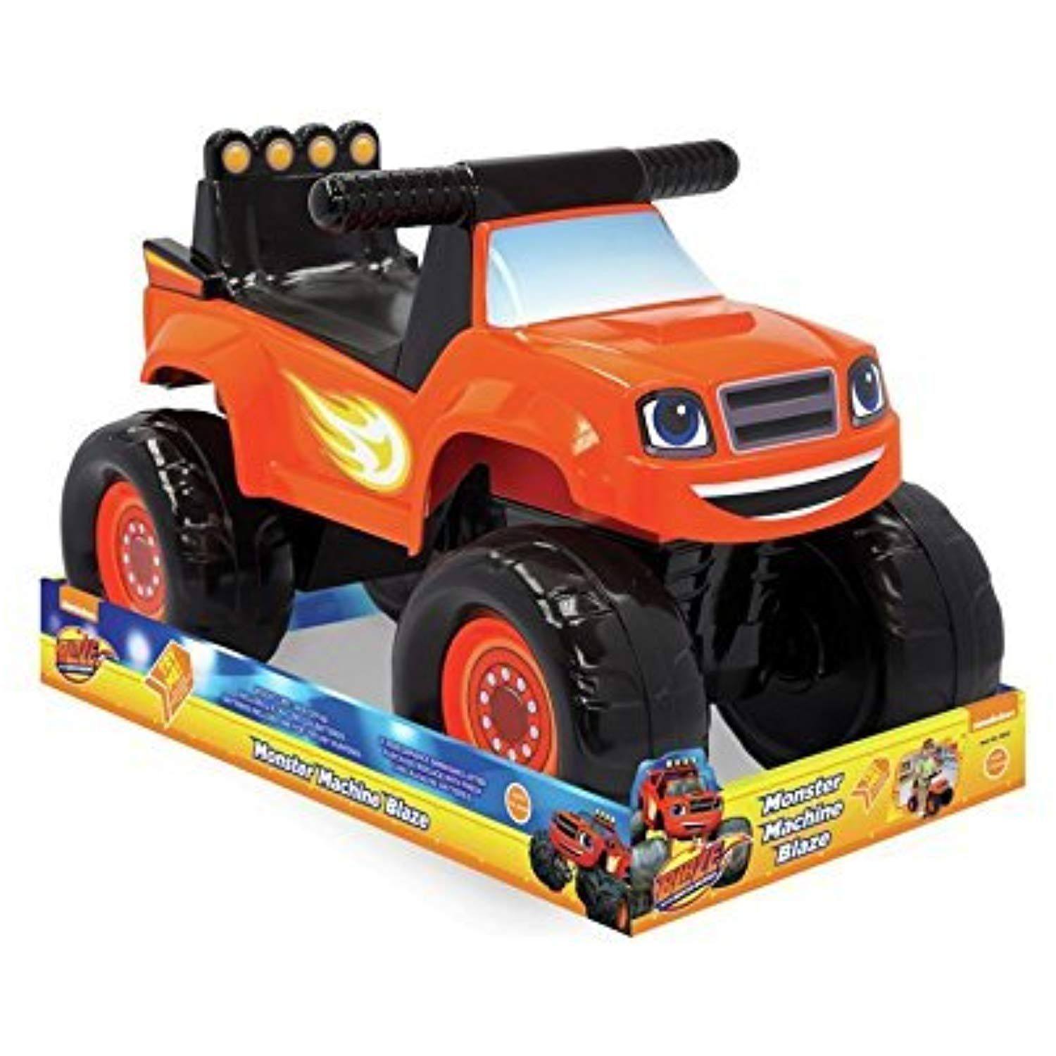 New Blaze Monster Truck Indoor Or Outdoor Ride On By Blaze Check This Awesome Product By Going To The Link At The Image Ride On Toys Monster Trucks Ride Ons