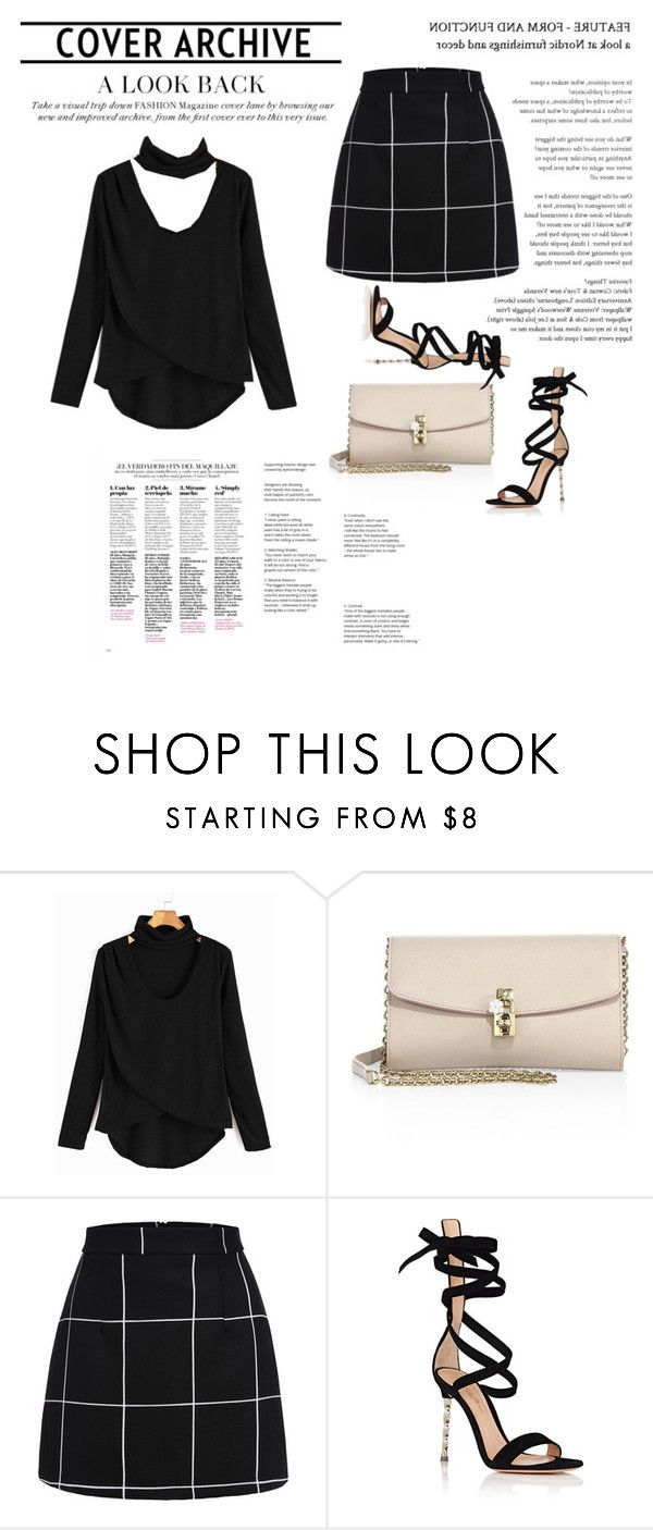 """""""Romwe"""" by opositeside ❤ liked on Polyvore featuring Dolce&Gabbana and Gianvito Rossi"""