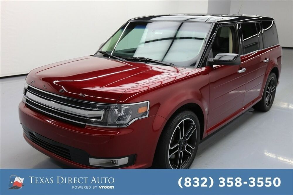 For Sale 2015 Ford Flex Sel Texas Direct Auto 2015 Sel Used 3 5l