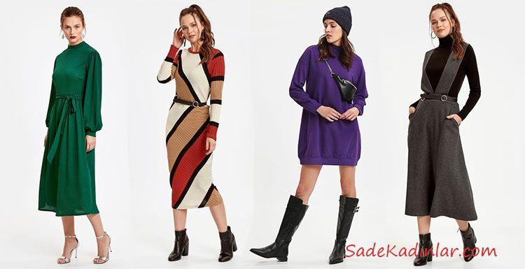 Lcw Bayan Elbise Modelleri Ile Sik Kombinler Elbise Modelleri Moda Stilleri Elbise