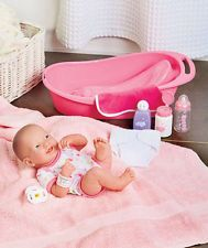 "La Newborn Real Life 14"" Baby Doll Set NEW"